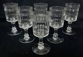where to crystal wine glasses baccarat 6 crystal wine glasses pattern crystal wine glasses