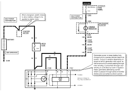 i have a 1995 ford contour with a good alternator but 1995 contour wiring harness 1995 Contour Wiring Diagram i have attached the wiring diagram the mega fuse is attached to the back of the intake if you have a 4 cylinder and the back of the valve cover if you have