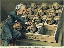 spoils system andrew jackson. A Cartoon Shows Roscoe Conkling Playing Popular Puzzle Game Of The Day With Heads Spoils System Andrew Jackson G