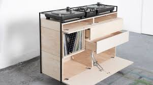 drawer space of selectors dj cabinet