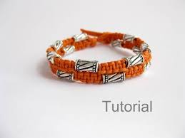 Macrame Bracelet Patterns Enchanting Bonus Pattern Macrame Bracelet Tutorial With Bonus Knotted Etsy