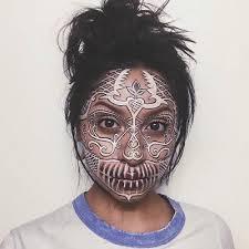 sugar skull makeup