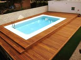 above ground pool decks kits with wooden deck around and intended for wood cost