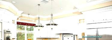 best concept recessed light to pendant light