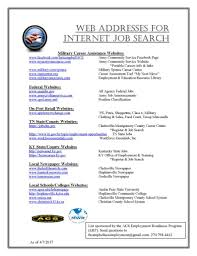 local regional and national employer websites fort campbell mwr web addresses for internet job search