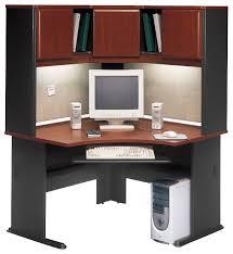 enchanting computer corner desk with hutch bush business furniture bush series a 48 corner computer desk