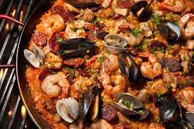 Authentic Seafood Paella at Beechwood Inn