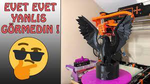 3D Yazıcı ile Kartal Figürü | 3D Printer Eagle Figures