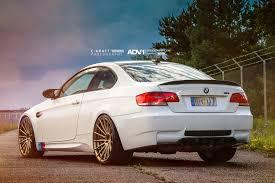 BMW 5 Series bmw m3 in white : Alpine White BMW F80 M3 - ADV15 MV.2 Standard Wheels - ADV.1 Wheels