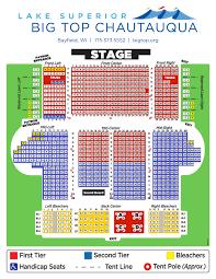 Big 12 Seating Chart Seating Chart Big Top Chautauqua