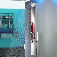 Edelstahl Duschpaneel Spiegel Duschsäule Mit Wasserfall