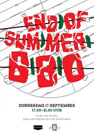 Bbq Poster End Of Summer Bbq Poster Kiara De Goede