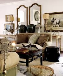 Afrocentric Living Room Monochrome Chinese African Western Tessa Proudfoot