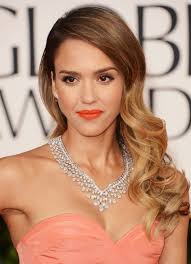 side swept ombre wavy curly hairstyle for 2017