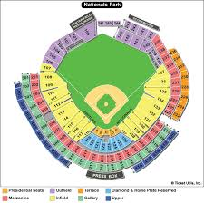 Washington National Seating Chart Views Nationals Park Washington Nationals Ballpark Ballparks Of