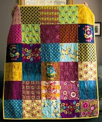 470 best Quilt Borders and Bindings images on Pinterest | Quilting ... & Example of quilt without borders, just binding. For my flannel quilt? Adamdwight.com