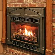 cost to install a fireplace gas fireplace insert in showroom how much does it cost to