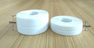 caulk trim before or after painting how to a bathtub caulking tape sealant 3 sealer strip