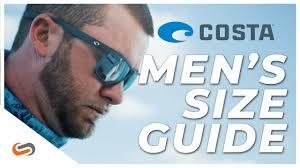 Costa Mens Sunglass Size Guide 2019