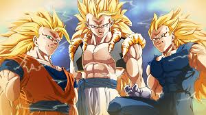 dragon ball z. anime - dragon ball z goku super saiyan gogeta (dragon ball)