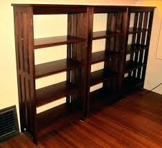 mission style bookshelves shelves arts and crafts bookcase doors solid bookshelf wall mission style wall shelves