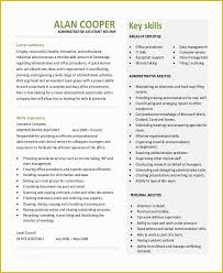 Best Resume For Administrative Assistant Free Administrative Assistant Resume Templates Of 8 Sample