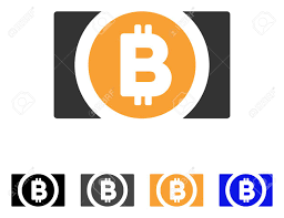 84520307 Illustration Illustration Cash Iconic Stock Free Flat Icon Vector Royalty Cliparts Vectors And Image Symbol Bitcoin Style Is