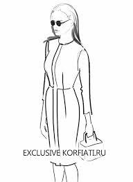 как нарисовать модницу в помощь начинающему иллюстратору