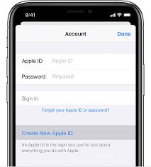 Apple Phone Number How To Create A New Apple Id Apple Support