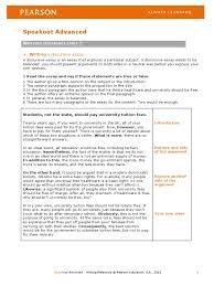 discursive essay speakout worksheet essays sentence linguistics
