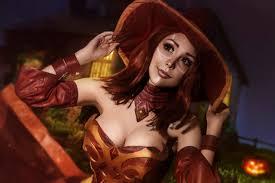 happy halloween dota 2 lina witch by shlachinapolina on deviantart
