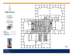 Willis Tower Floor Plans  Chicago IL USAWillis Tower Floor Plan