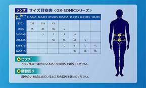 Mizuno Gx Sonic 3 Size Chart Mizuno Swimsuit Men Gx Sonic Iii St Fina Approval N2mb6001 Size Xs From Jp