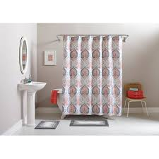better homes and gardens medallion 15 piece bath set shower curtain and bath rugs included com