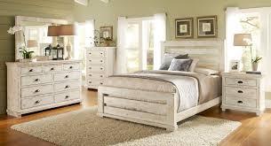 Distressed Bedroom Furniture Sets Willow Slat Bedroom Set Distressed White Progressive Furniture