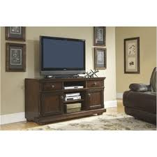 W697 132 Ashley Furniture Porter Rustic Brown Tv Stand