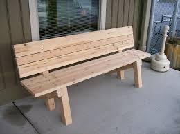 garden benches built wooden garden