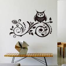 art vinyl wall beautiful owl wall decor