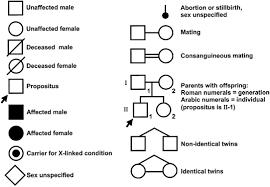 Mendelian Genetics Chart Mendelian Inheritance And Its Exceptions Glowm