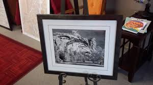 ansel adams custom framed print