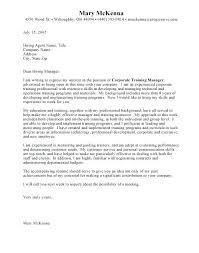 Sample Cover Letter For Job Opening Job Resume Cover Letter Example