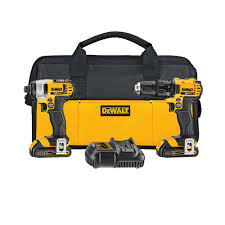 home depot dewalt drill. dewalt 20-volt max lithium-ion cordless drill/driver combo kit (2-tool) with (2) batteries 1.5ah, charger and contractor bag-dck280c2 - the home depot dewalt drill r