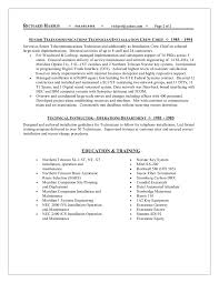Telecom Project Manager Resume Sample Resume Ideas