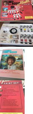 other painting supplies 11785 unused bob ross master paint set 8 colors brushes