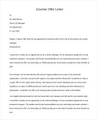Accepting Offer Letter Counter Offer Letter Sample 5 Acceptance Example Real Estate