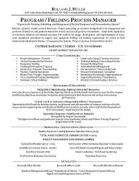Sample Travel Management Resume Process Manager Resume Examples Firefighter Resume Good