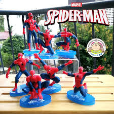 Spider Man Figures Toy Doll Cake To End 3282020 1235 Am