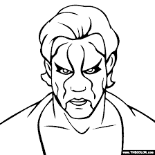 Small Picture Wwe Coloring Book WWE Wrestling Printable Coloring Pages John Cena