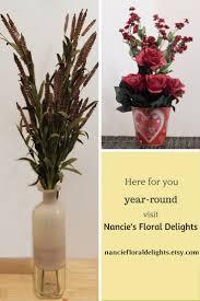 Silk Arrangements For Home Decor 17 Best Images About Silk Flower Arrangements On Pinterest Etsy