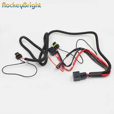 rockeybright hid xenon bulb extension cable xenon hid kit relay rockeybright hid xenon bulb extension cable xenon hid kit relay wiring harness h1 h3 h7 h8 h9 h11 9005 9006 conversion kit relay in wire from automobiles